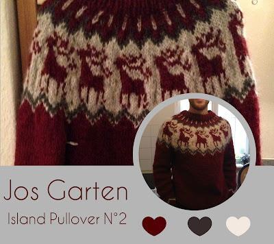 Jos Garten/Norweger/ Pullover/Islandwolle/Alafosslopi