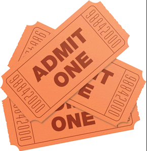 photo of: Tickets: The Price of Admission for Reading
