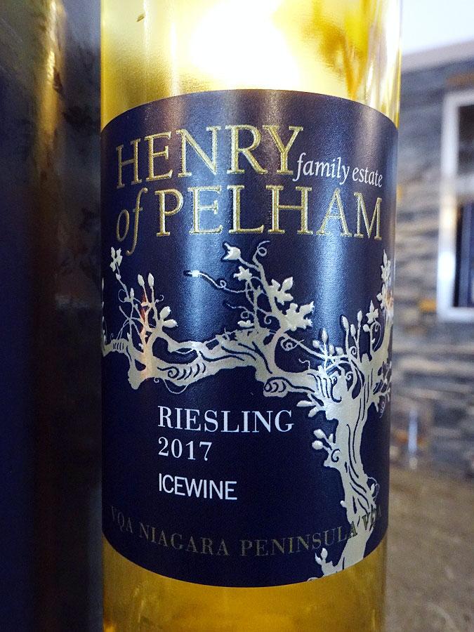 Henry of Pelham Riesling Icewine 2017 (91+ pts)