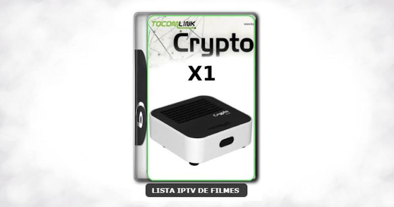 Tocomlink Dongle Crypto X1 Nova Atualização Satélite SKS 107.3w ON V1.027