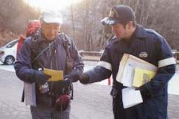 冬山遭難防止へ安全な登山指導・南アルプス署
