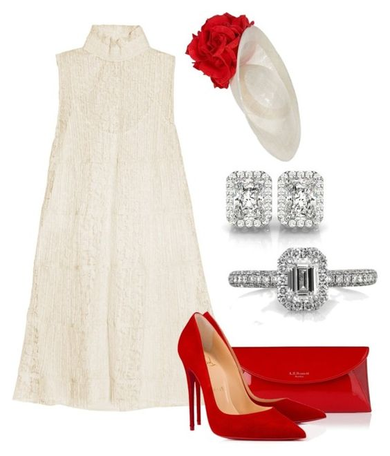 amazing white look and red details