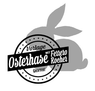 Kostenlose Vorlage für DIY Tischkarte | selbstgemachtes Mitbringsel zu Ostern mit Ferrero Rocher | http://titatoni.blogspot.de/