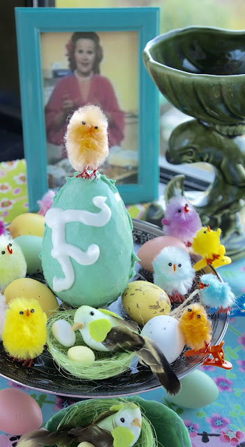 Fanny Cradock Easter Egg