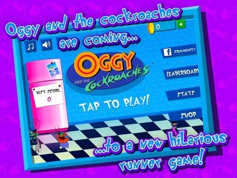تحميل لعبه اوجي Oggy لـ Android