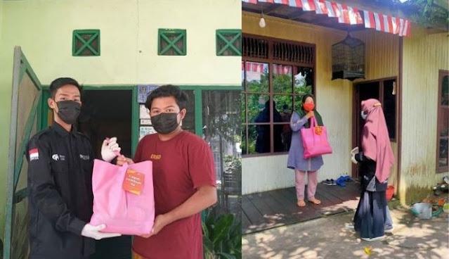 Program Rumah Zakat Bantuan Sembako Isoman