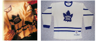 NHL CCM Heritage Jersey Collection - Toronto Maple Leafs circa 1950