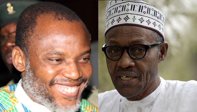 "IPOB fingers Uwazurike as ""masquerade"" fielded by DSS to testify against Nnamdi Kanu"