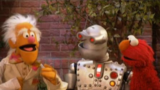 Dr. Sigmund Sillystuff, The Memorybot and Elmo together appear. Sesame Street The Best of Elmo 2