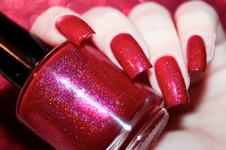 "Swatch of the nail polish ""Vanellope Von Schweetz"" from Eat Sleep Polish"