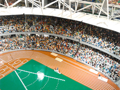 The Lego Olympic Stadium