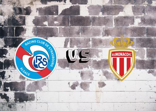 Strasbourg vs AS Monaco  Resumen