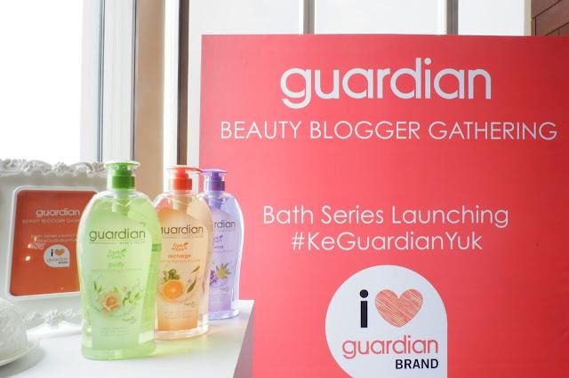 Guardian Beauty Blogger Gathering : Bath Series Launching