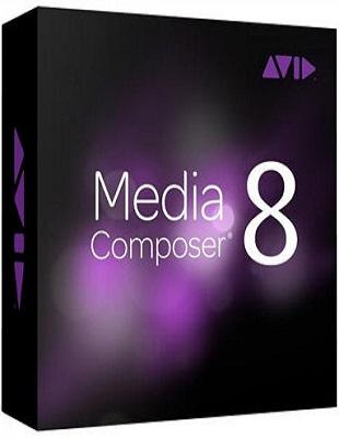 Avid Media Composer 8.7.2 poster box cover