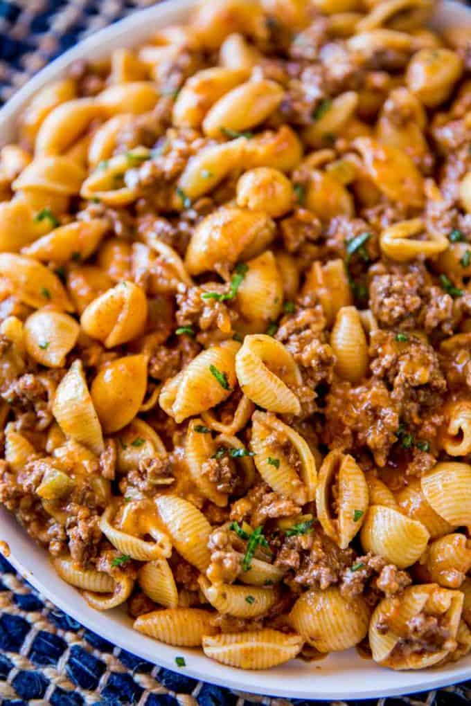 THE BEST TACO PASTA #pasta #salad #dinner #familydinner #taco