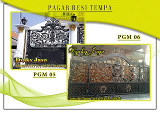 Katalog pintu gerbang besi tempa, pintu gerbang klasik mewah 05