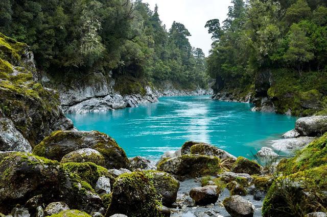 Hokitika Gorge River Nouvelle Zelande