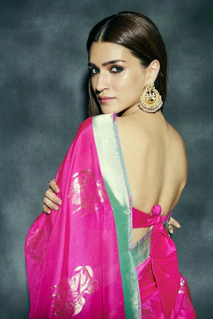 Kriti Sanon HD Wallpaper in Saree