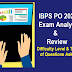 IBPS PO Prelims Exam Analysis : 3rd October 2020, Review, Cut off marks