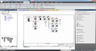 Screenshot 3 : DesignSpark Electrical Software Menggambar Atau Merancang Kelistrikan