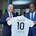 À New-York, Infantino présente à Tshisekedi l'évolution des projets d'éducation et d'insertion sociale par le sport mis en place en RDC avec la FIFA
