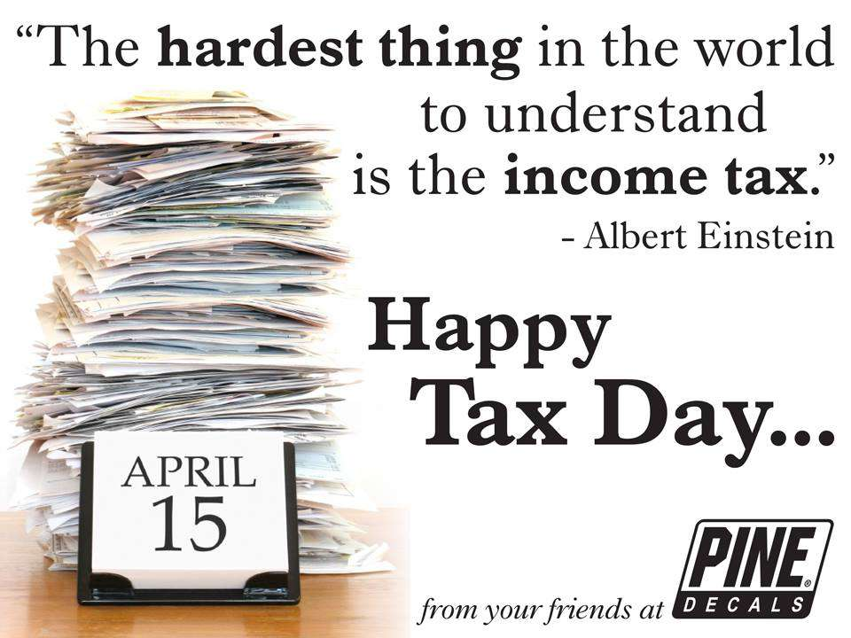 Tax Day Wishes Photos
