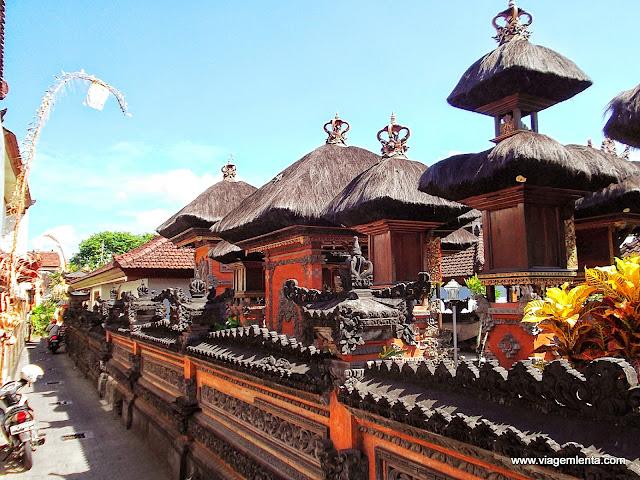 Um dos milhares de templos em Bali
