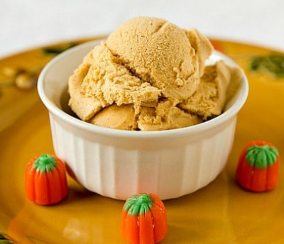 Pumpkin Ice-Cream