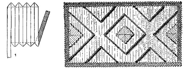 как сделать коврик из соломы