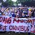 SETAHUN JOKOWI-MA'RUF! Buruh-Mahasiswa Turun Kejalan Bersiap Kepung Istana