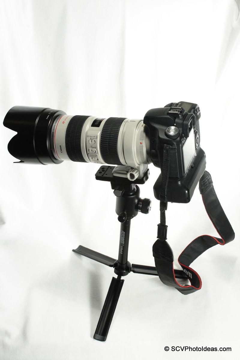 Canon EOS50D+BG-EN2+EF70-200L-IS-USM on Sunwayfoto DB-36TRLR/ Fotomate V-Pod-S combo