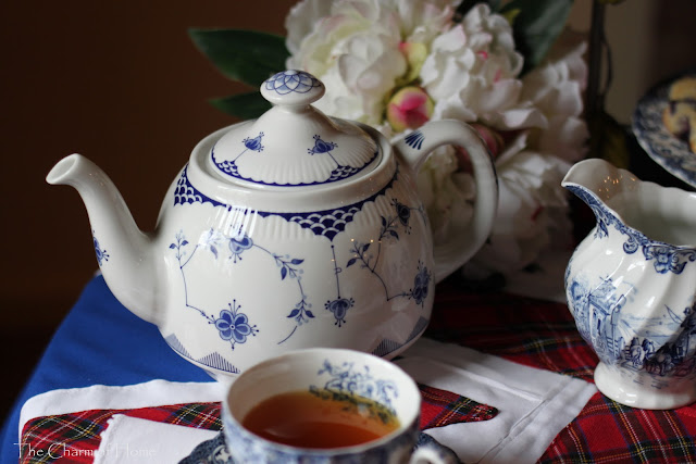 High Tea with Union Jack: The Charm of Home