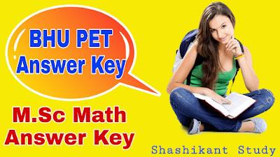 bhu-m.sc-math-answer-key