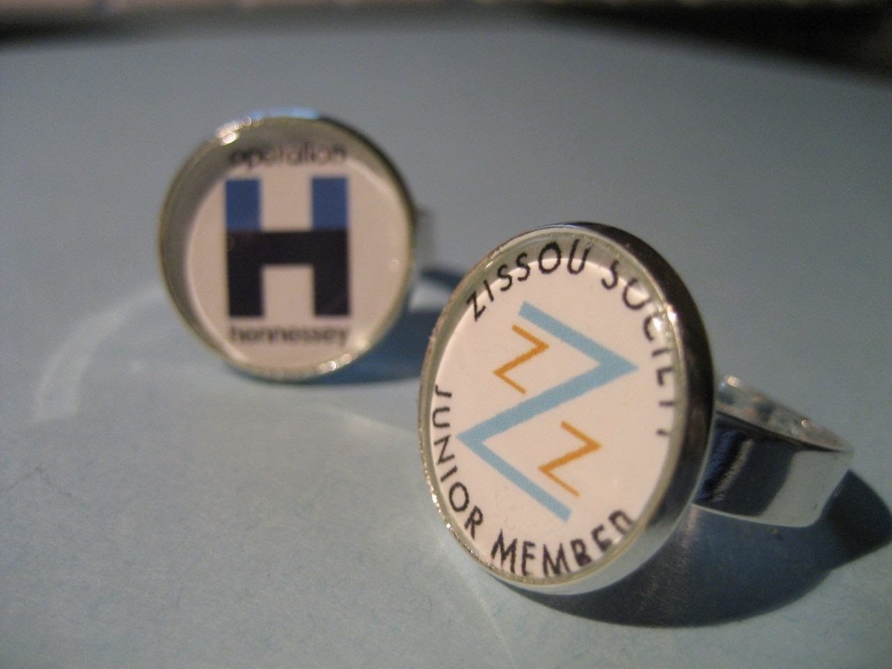 hennessey and zissou rings