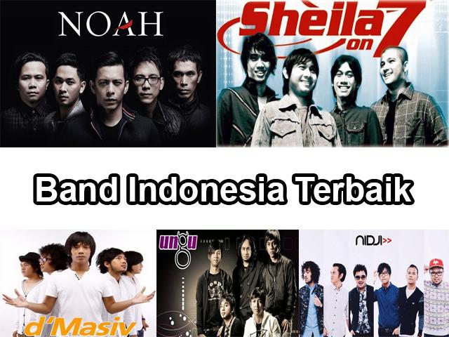 10 Group Band Indonesia Terbaik Sepanjang Masa