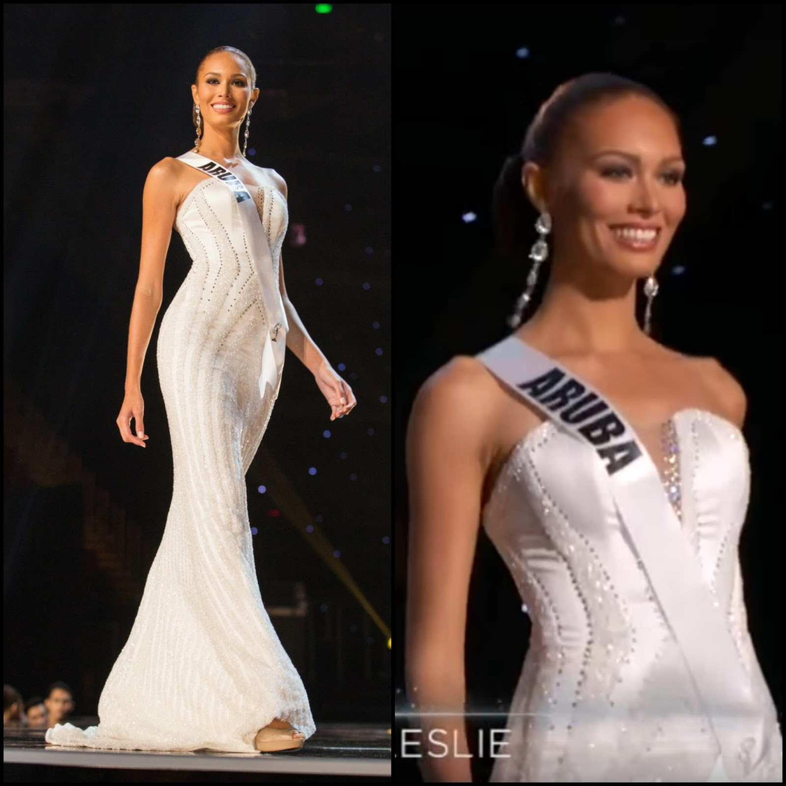 2018 Miss Universe Evening Gown