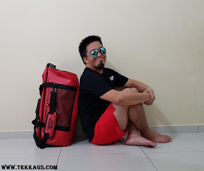 Hypergear Waterproof Duffel Bag 40L 60L Review