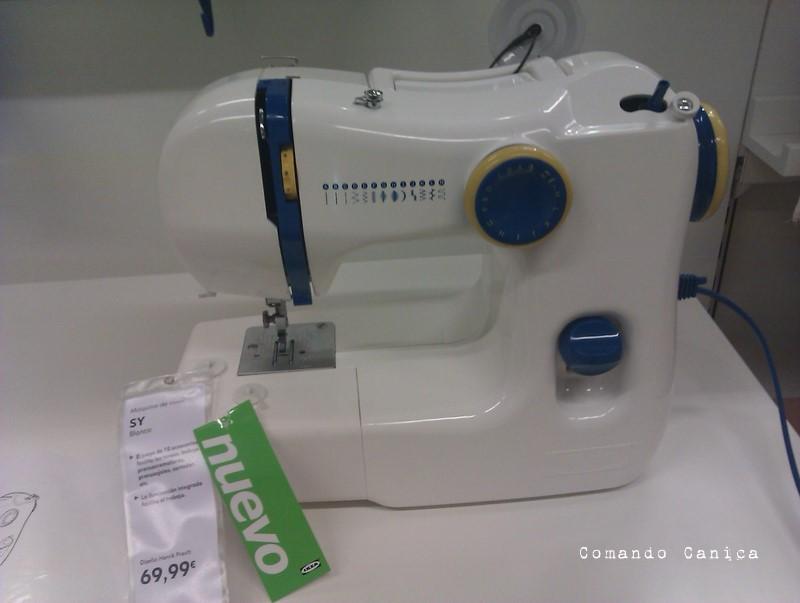 Máquina de coser en ikea increíble pero cierto