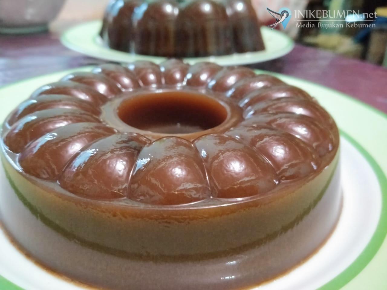 Puding Coklat Santan Klasik, Makanan Merakyat Kaya Manfaat