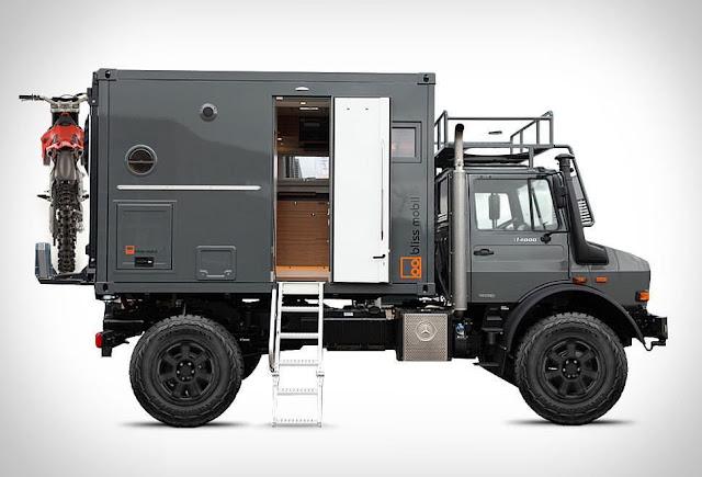 Bliss Mobil Overland Unimog