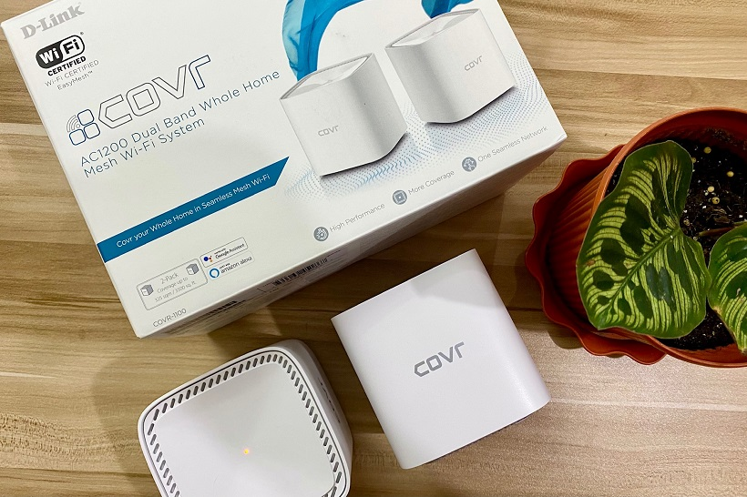 D-Link COVR 1100 AC1200 Wi-Fi Mesh System Review