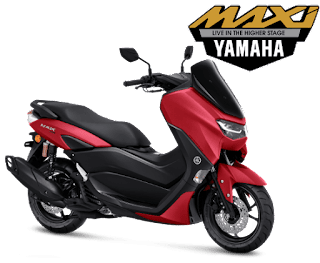 all new nmax connected merah