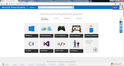 mva1 - Belajar Gratis Dengan Microsoft!