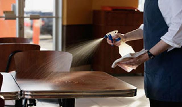 Dịch vụ vệ sinh nhà hàng tại quận 7 giá rẻ