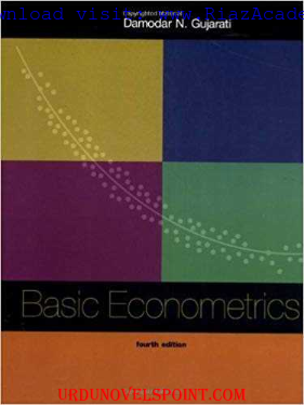 Basic Econometrics by Gujrati 4th Edition Free Download
