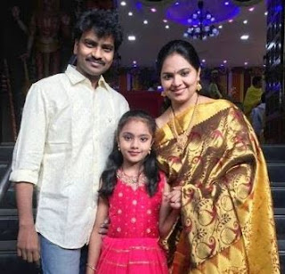 Gopika Poornima Singer Family Husband Parents children's Marriage Photos