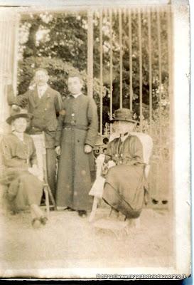 photo ancienne 1920 Veauce