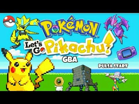 Pokemon LET'S GO PIKACHU gba