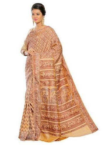 Baluchari Cotton Saree