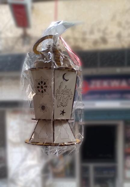 سعر فانوس رمضان الخشب 2021